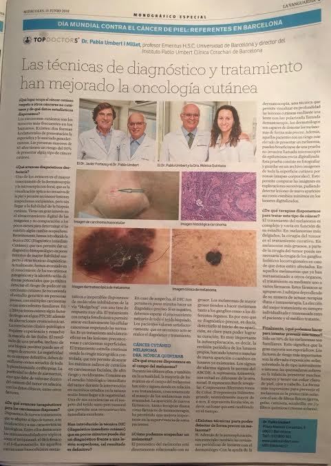 oncologia cutanea avances